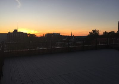 Two32 E Market - Rooftop Deck Sunset